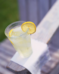 ...going down to have lemonade on the lawn...