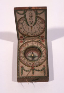 Historic compass from the Filson Historical Society circa 1820s.
