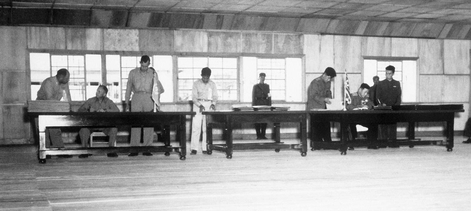 Armistice agreement - July 27, 1953