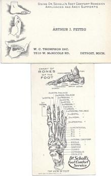 Old Business Cards - Art Fettig